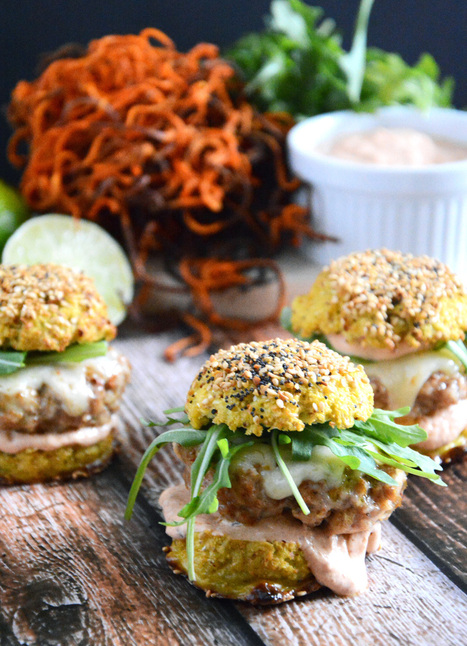 #HealthyRecipe / Chipotle Chicken and Andouille Sausage Sliders | kamagra-hilfe | Scoop.it