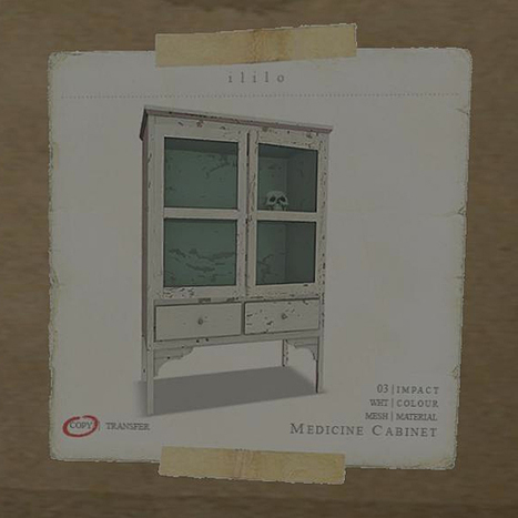 FREE Whitwashed Medicine Cabinet | Second LIfe Good Stuff | Scoop.it