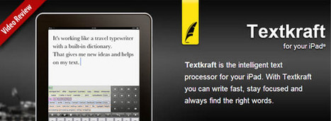 Need a Document iPad App? Check Out Textkraft | Best iPhone Apps and iPad Apps | Scoop.it