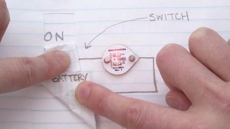 Circuit Scribe, un stylo pour dessiner des circuits électroniques sur une feuille de papier   Actinnovation©   Actualité dans le monde des activités scientifiques pour des enfants (Télédétection, astronomie, informatique, robotique, petits débrouillards, écologie.)   Scoop.it