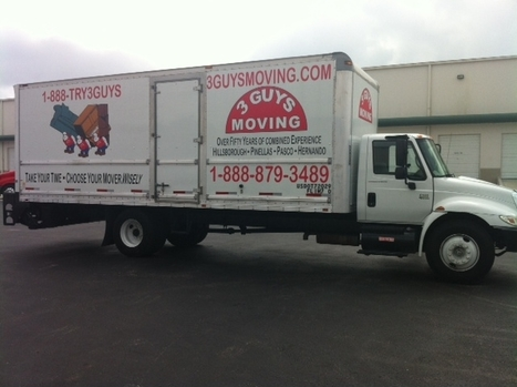 Looking for a local moving company in Clearwater FL | 3 Guys Moving Clearwater offers affordable services in Clearwater FL | Scoop.it