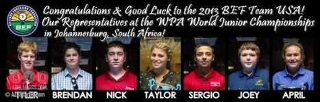 U.S. Juniors Prepare for WPA World Championships | Pool & Billiards | Scoop.it