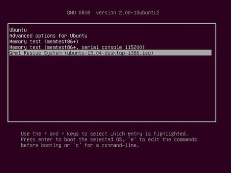 Here's An Easier Way To Boot ISO Image From Your Hard Drive   Ubuntu Portal   Ubuntu Desktop   Scoop.it