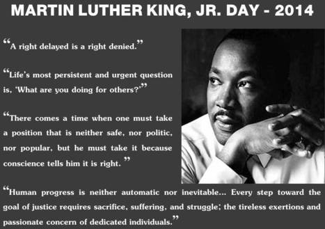 Martin Luther King, Jr. Day 2014 | Lapin Law Offices | Nebraska and National Legal and Other News | Scoop.it