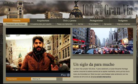 100 años de la Gran Vía | Especiales | elmundo.es | Discovering stories | Scoop.it