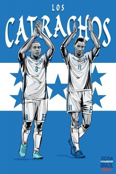 ESPN Releases National Team Posters For All 32 Countries In The World Cup - Business Insider | France have a chance | Scoop.it