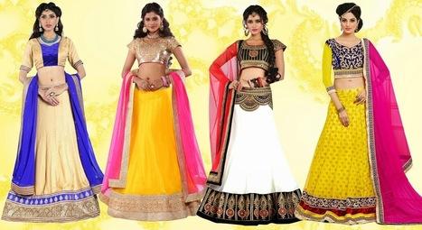 Exclusive Range Of New Designer Lehenga | Buy Women's Clothing Online in Affordable rate | Scoop.it