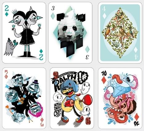 Le poker et le design, une alliance pleine d'atouts - Mon Coin Design | Design insolite | Scoop.it