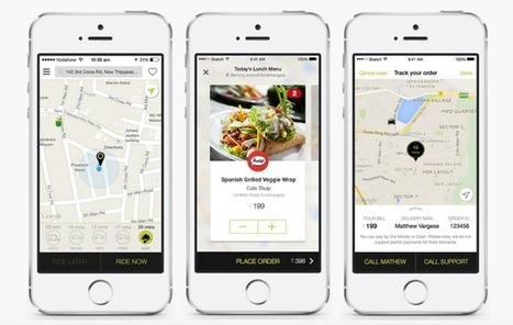 Ola, Uber's Big Rival In India, Introduces Food Ordering Service | Peer2Politics | Scoop.it