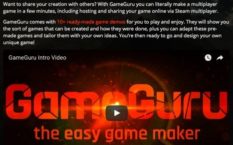 GameGuru - GameGuru Game Maker | eLearningKorean | Scoop.it