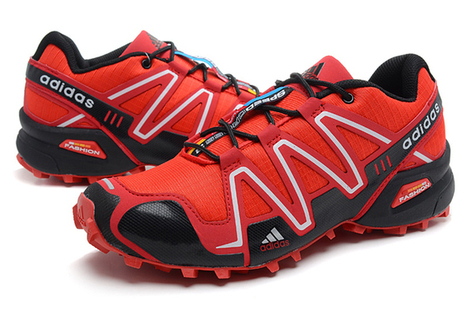 Adidas Salomon Mens Varsity Red Black Shoes | fashion collection | Scoop.it