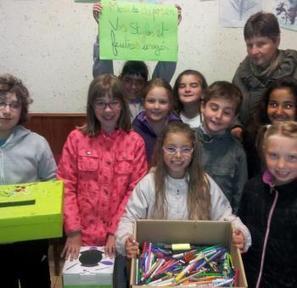 Fleurance. Conseil municipal d'enfants : récolte de stylos usagés | ECOLE MONGE | Scoop.it