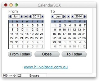 Hi-Voltage: CalendarBOX | Filemaker Info | Scoop.it