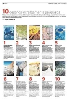 10 destinos increíblemente peligrosos | Tendencias | La Tercera Edición Impresa | Noticias del sector | Scoop.it