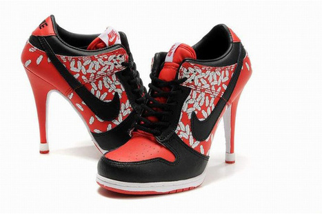 cheap nike dunk sb womens low heels black/red | popular collection | Scoop.it