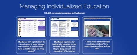 BlueHarvest - Standards-based grading and two-way feedback organization | Professional Development | Scoop.it