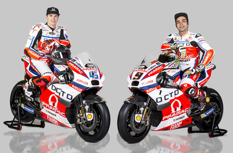 MotoGP news: Pramac Ducati squad unveils 15th anniversary MotoGP livery | Ductalk Ducati News | Scoop.it