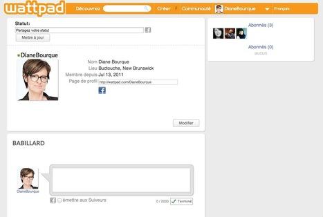 wattpad | DianeBourque | Diane sur le Web | Scoop.it