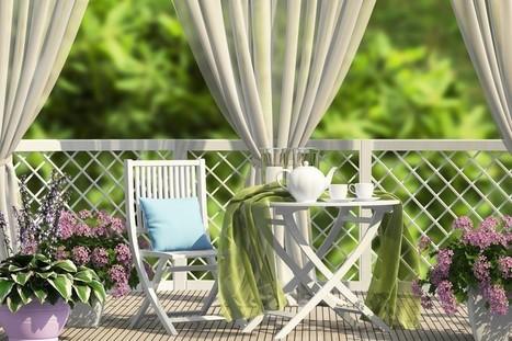 Comment décorer son balcon pour l'été - RTL.fr | Maison ossature bois écologique | Scoop.it
