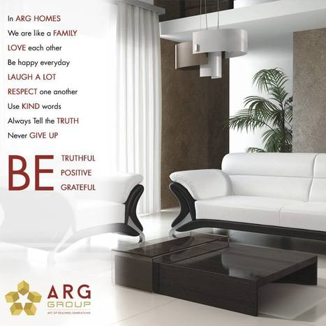 Feel happy to be a part of such a great society by owning your own home with ‪ARGGroup | Residential Projects | Scoop.it