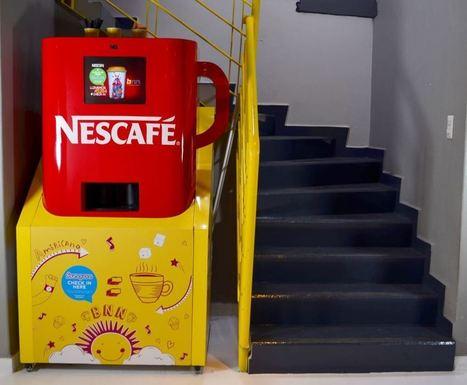 Au Mexique, Nescafé vous offre un café contre un Check-in Foursquare !   Inbound Marketing & Community Management   Scoop.it