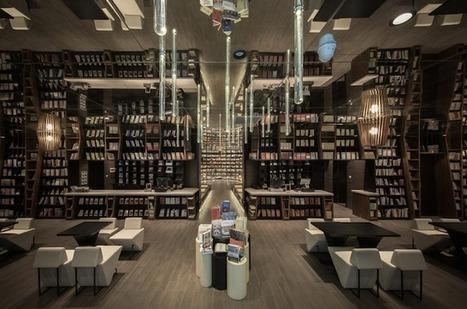 De l'autre côté des miroirs, les livres : la librairie sans fin d'Hangzhou, en Chine | Bibliothèques en évolution | Scoop.it