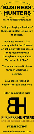 Find a Business for Sale in South Africa at Business Hunters | Business Hunters | Scoop.it