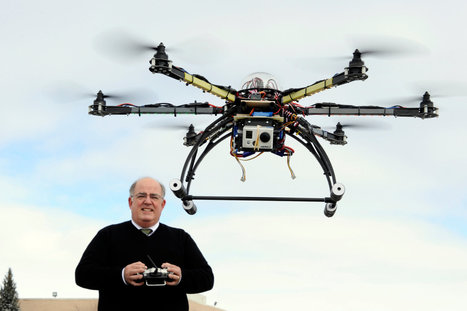 Domestic Drones on Patrol | The Future of Artificial Intelligence - 1012ICT | Scoop.it