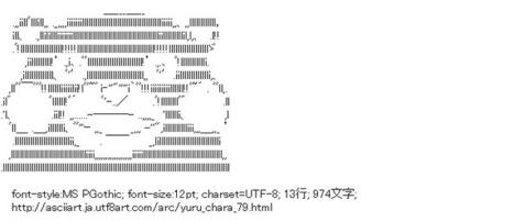 くまモン (ゆるキャラ) | ASCII Art | Scoop.it