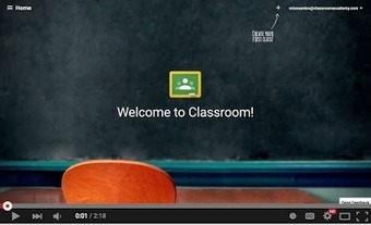 New- Google Classroom Starts Sending Out Notifications to Students ~ Educational Technology and Mobile Learning   Google in the Library & Classroom   Scoop.it