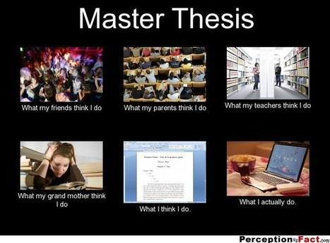 Master Thesis | What I really do | Scoop.it