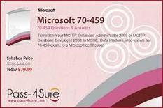 Microsoft MCITP 70-459 exam Review | Pass-4sure – Total Certification Solution | IT Certification Exam | Scoop.it