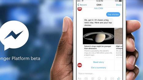 11 000 bots ont envahi Facebook Messenger en moins de trois mois | RelationClients | Scoop.it