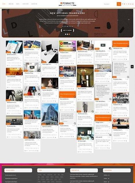 TM Pinnaite - Responsive Pinterest WordPress Theme | Free & Premium Joomla Templates and WordPress Themes | Scoop.it