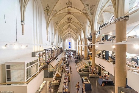 Biblioteca é construída em antiga Catedral | publiki | Ferramentas de Marketing, Comunicação Corporativa, Branding, Educação e Livros Digitais | Scoop.it