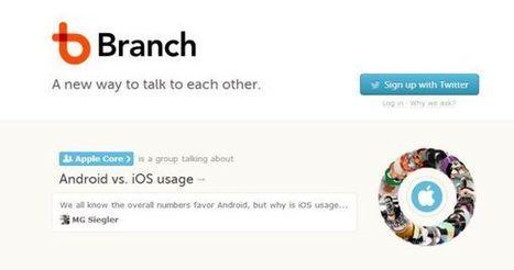 Branch abre su servicio al público para permitirles crear discusiones | Educación a Distancia y TIC | Scoop.it