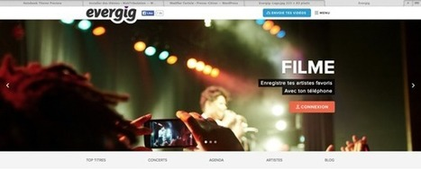 Evergig : commercialiser au bénéfice des artistes le piratage des concerts   Modèles d'affaires   Scoop.it
