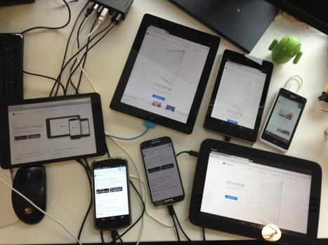Synchronized Cross-device Mobile Testing - HTML5 Rocks | New Trends in Web Design and Development | Scoop.it