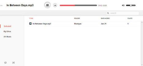 Lire votre musique depuis Google Drive avec DriveTunes | Le Newbie | Geeks | Scoop.it