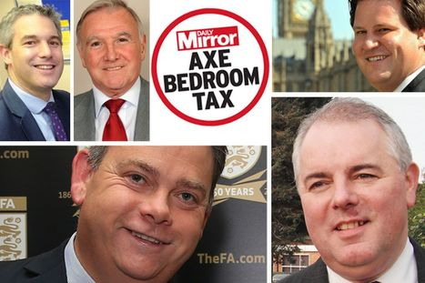 Shameless MPs who voted to keep the bedroom tax claimed £3.2million for their own 'spare bedrooms' | SocialAction2014 | Scoop.it