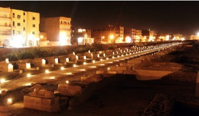 The Sphinx Avenue lit up for the first time | Égypt-actus | Scoop.it
