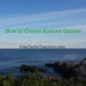 How to Create Kahoot Games FreeTech4Teachers @rmbyrne | Educational Technology | Scoop.it