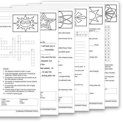 Vocabulary Worksheet Maker for Teachers | SchoolhouseTech.com ...