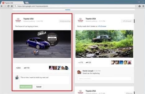 Comment créer une publicité sur Google+ ?   Be Marketing 3.0   Scoop.it