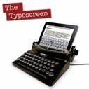 Le Typescreen, la machine à écrire pour iPad | Apple World | Scoop.it