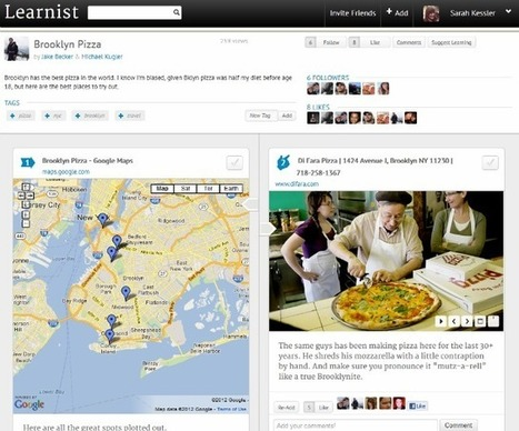 New Content Curation Tool: Learnist Is Pinterest For Learning | SMB Content Curation Monitor | Scoop.it