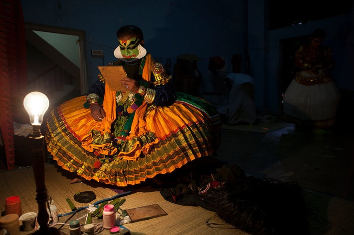 Critic's Notebook: Kathakali Dance, in India, With the Locals | The New York Times | Kiosque du monde : Asie | Scoop.it