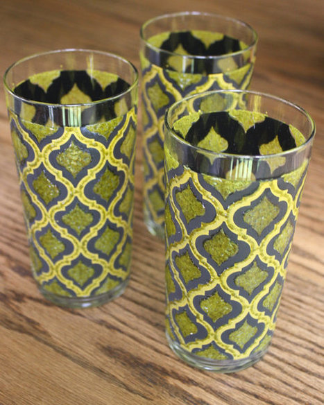 Mad Men Style Drinking Glasses | Best of me | Scoop.it