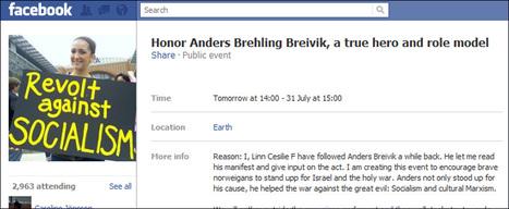 Falsk Facebook-profil laget Breivik-støttegruppe - Linn Cecilie Fosse fortvilet etter misbruk av hennes navn   Sosial på norsk   Scoop.it