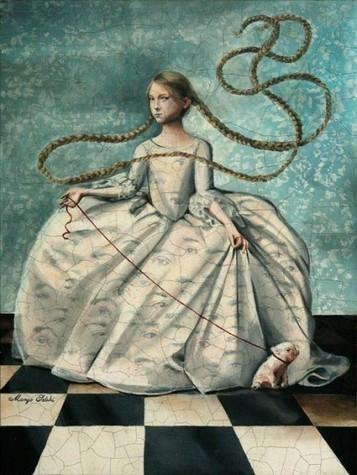 Margo Selski - Peinture néo-médiévale • Artistes • La Lune Mauve | Artistes de la Toile | Scoop.it
